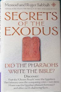 Secrets of the exodus by Messod and Roger Sabbah