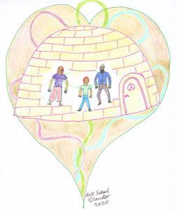 המשפחה הפנימית, בתוך הבית הפנימי, השילוש הפנימי הקדוש.