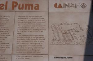 Puman tempelin kuvauksen Meksiko