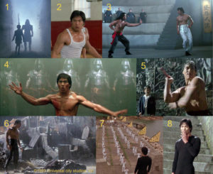 Valon ja pimeyden soturit lokuvassa Dragon - Bruce Leen tarina.
